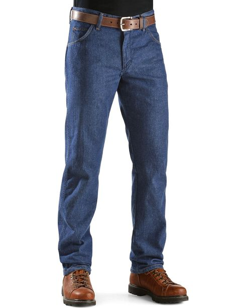 Wrangler Fire Resistant FR 47 Lightweight Regular Fit Jeans, Denim, hi-res