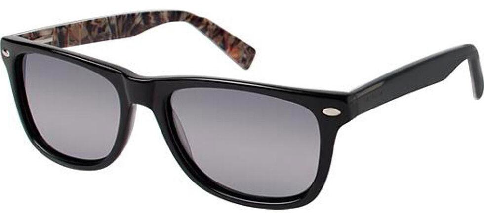 Realtree Women's Black Polarized Lens Sunglasses, Black, hi-res
