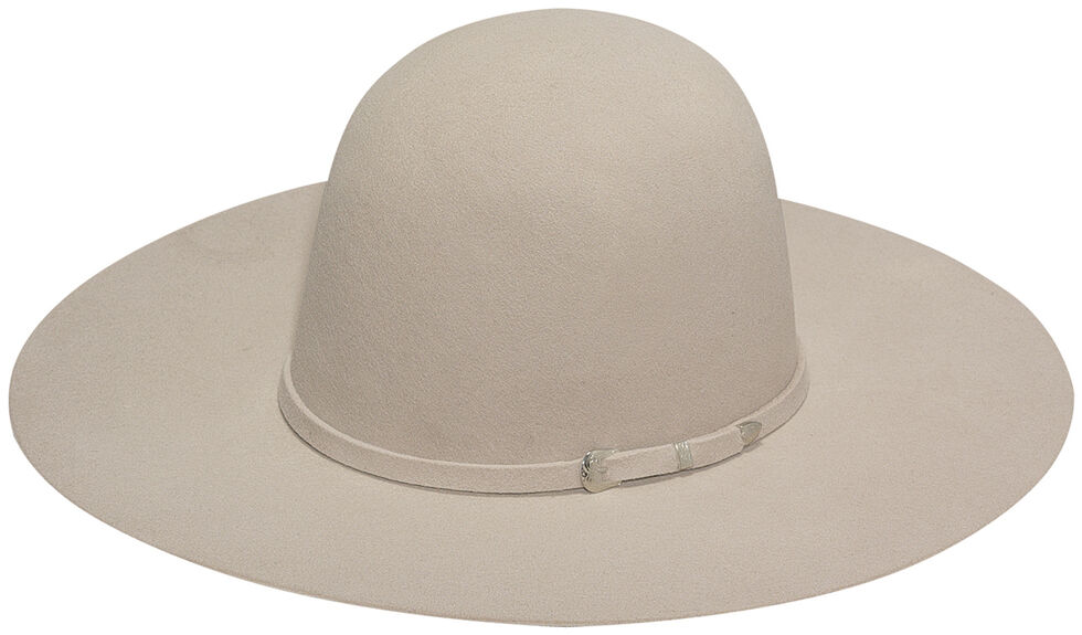 Twister 2X Select Wool Men's Open Crown Hat , Silverbelly, hi-res