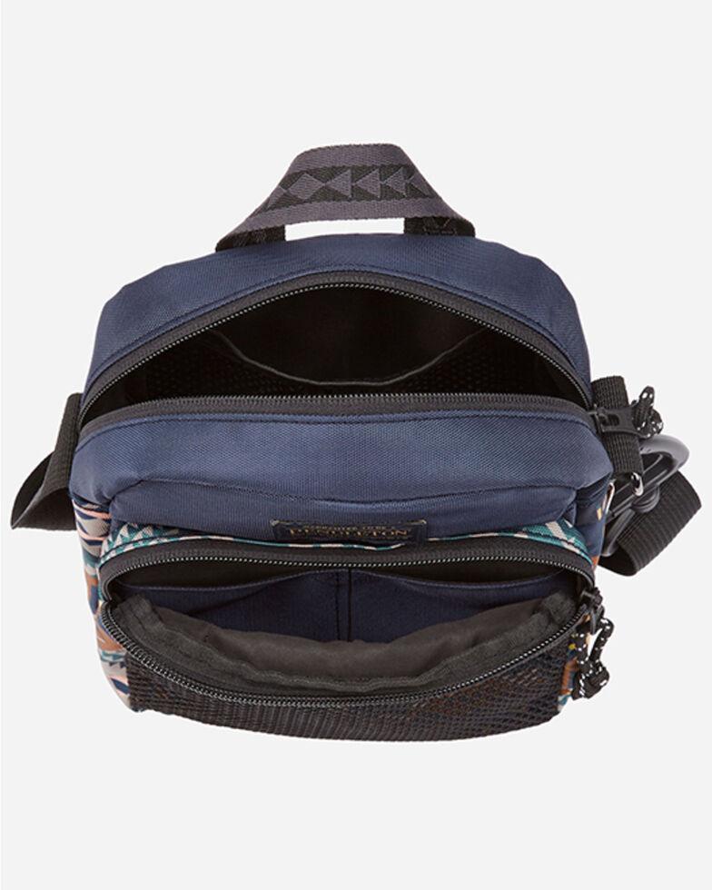 Pendleton Women's Canvas Crossbody Bag, Blue, hi-res