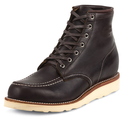 Chippewa Men's Cognac General Utility Boots - Moc Toe, Cognac, hi-res