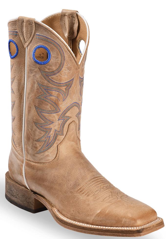 7bd7de76e0e Justin Men's Bent Rail Cowboy Boots - Square Toe