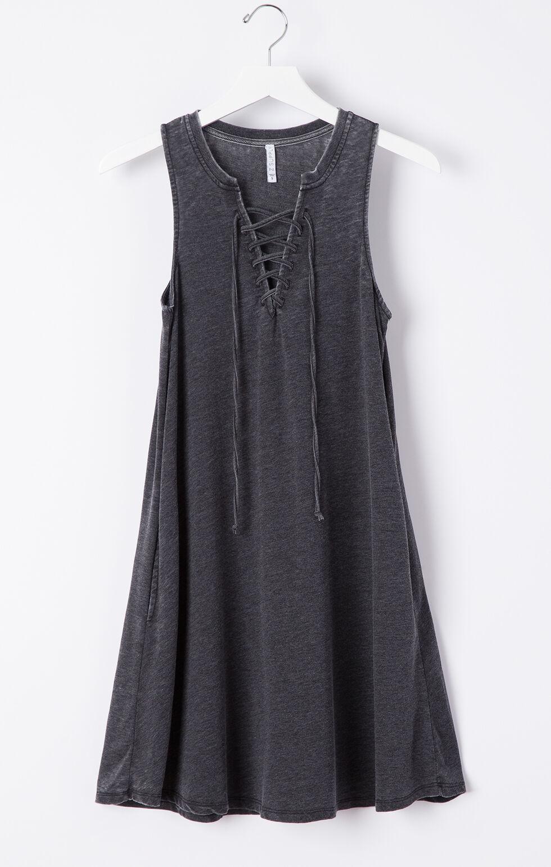 Z Supply All Tied Up Dress, Black, hi-res