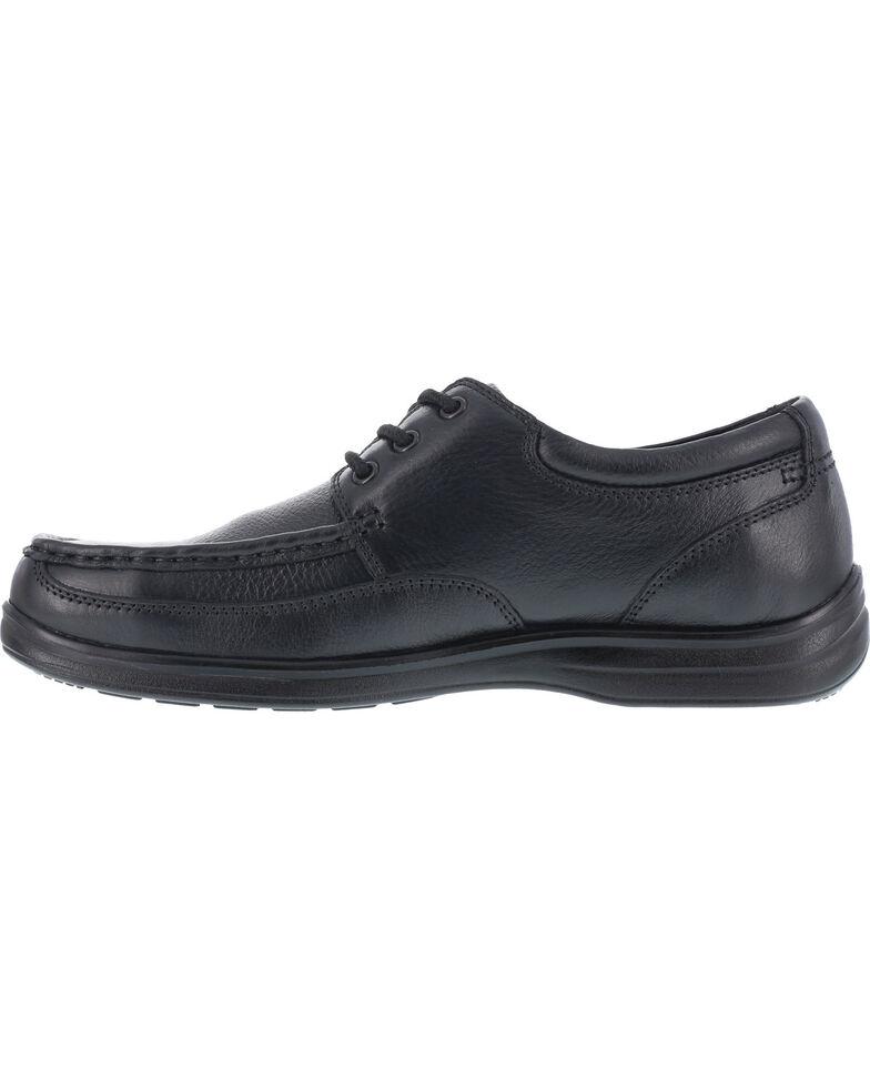 Florsheim Men's Lace Up Work Shoes - Steel Toe , Black, hi-res