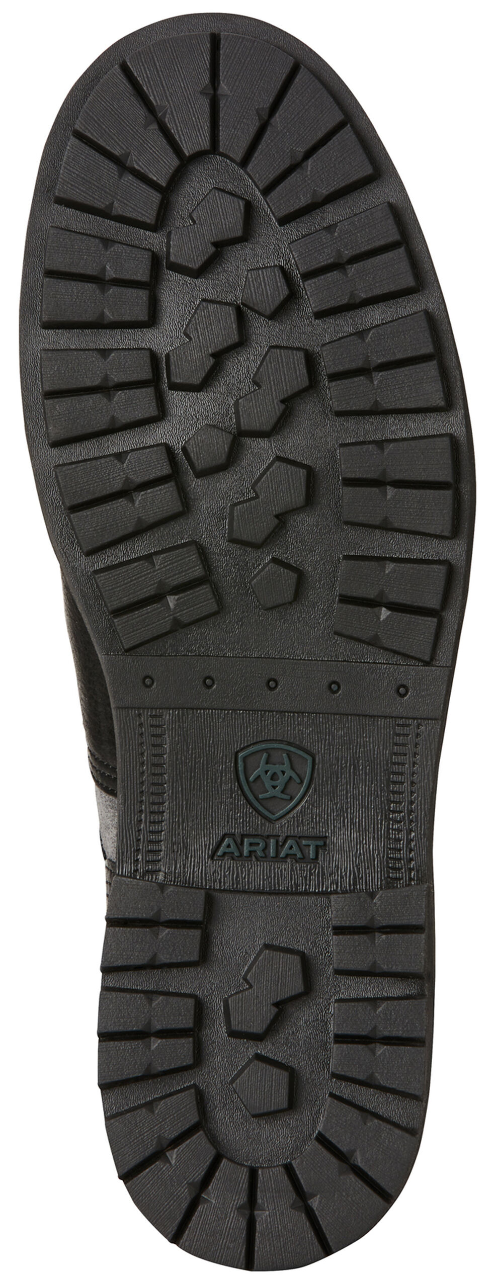 Ariat Men's Graphite Easy Street Lace-Up Boots - Round Toe , Black, hi-res