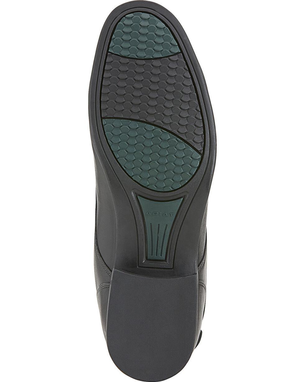 Ariat Men's Heritage Contour Field Zip Riding Boots, Black, hi-res