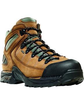 Danner Men's Tan Leather Waterproof Boots - Round Toe , Tan, hi-res