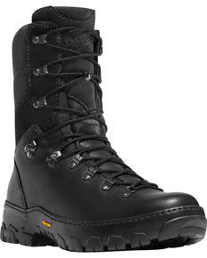 "Danner Men's Black Wildland Tactical Firefighter 8"" Boots - Round Toe, Brown, hi-res"
