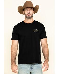 Moonshine Spirit Men's Black Provisions Graphic Short Sleeve T-Shirt , Black, hi-res