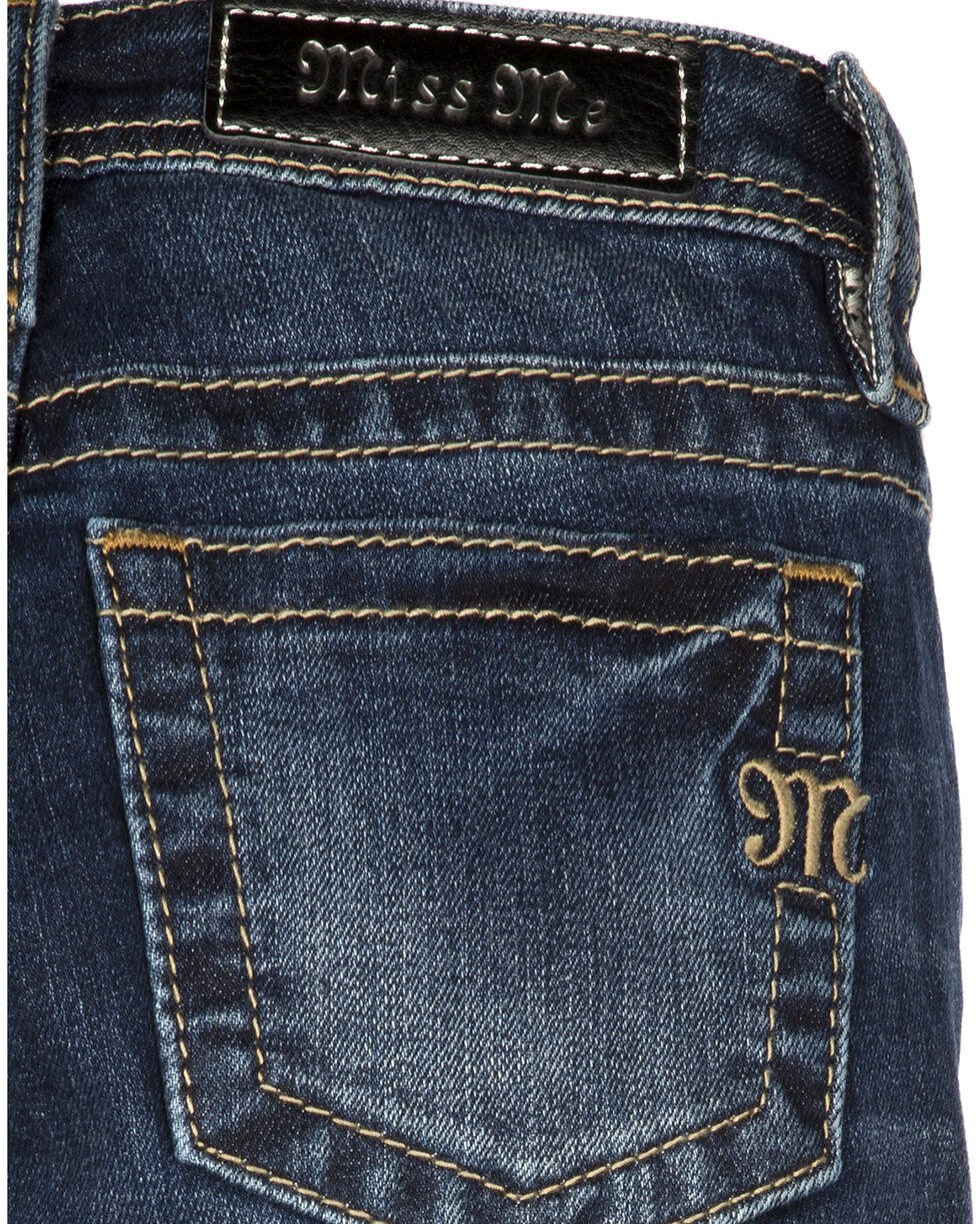 Miss Me Girls' Thrill Rider Skinny Jeans, Denim, hi-res