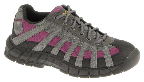 Caterpillar Women's Switch Lace-Up Oxfords - Steel Toe, Black, hi-res