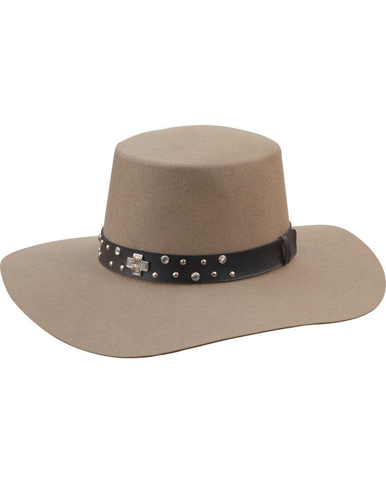 Silverado Women s Belle Silver Belly Flat Top Hat  42bcf2748ef