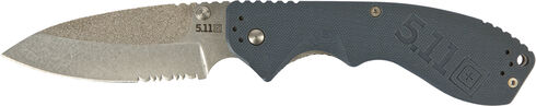 5.11 Tactical PREFENSE Courser 3.5 Knife (Clamcard), Blue, hi-res