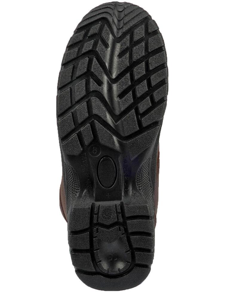 "McRae Men's 6"" Lace-Up Work Boots - Steel Toe, Brown, hi-res"