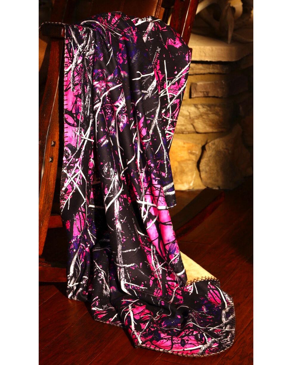 Carstens Muddy Girl Throw Blanket, Purple, hi-res