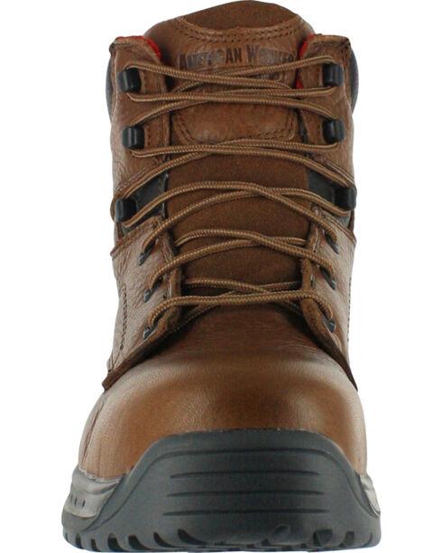 American Worker Men's Work Boots - Steel Toe, Brown, hi-res