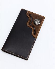 Cody James Men's Rodeo Wallet, Brown, hi-res