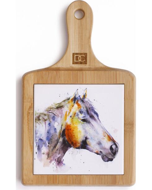 Big Sky Carvers Poncho Horse Cheese Board Set, Natural, hi-res