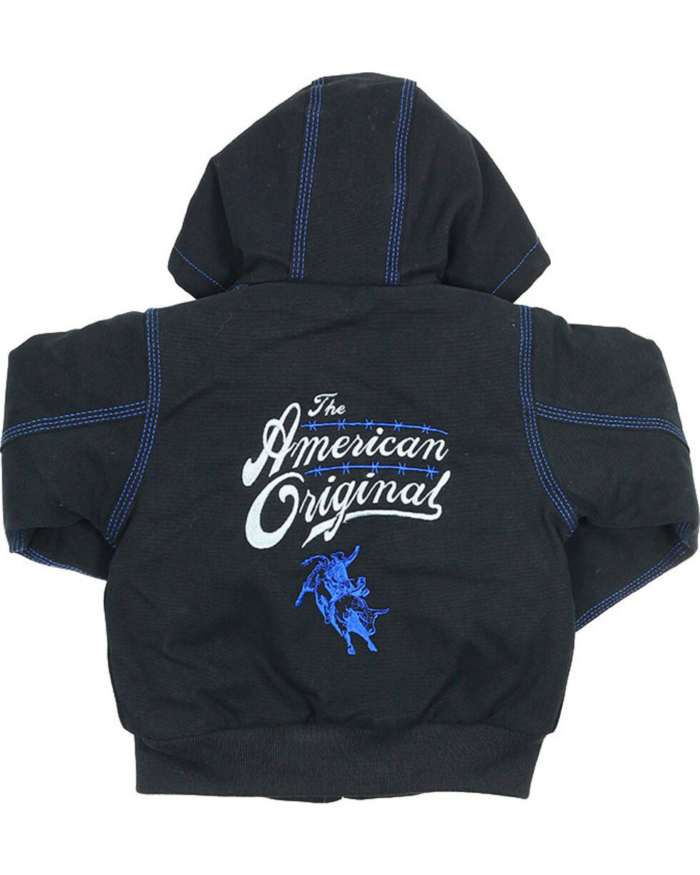 Cody James Toddler Boys' American Original Hooded Jacket, Black, hi-res