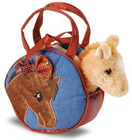 Pony Pal Pet Carrier Purse, Denim, hi-res
