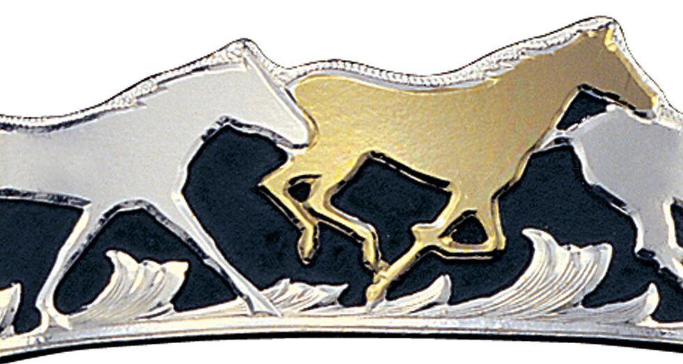 Montana Silversmiths Horse Cuff Bracelet, Multi, hi-res