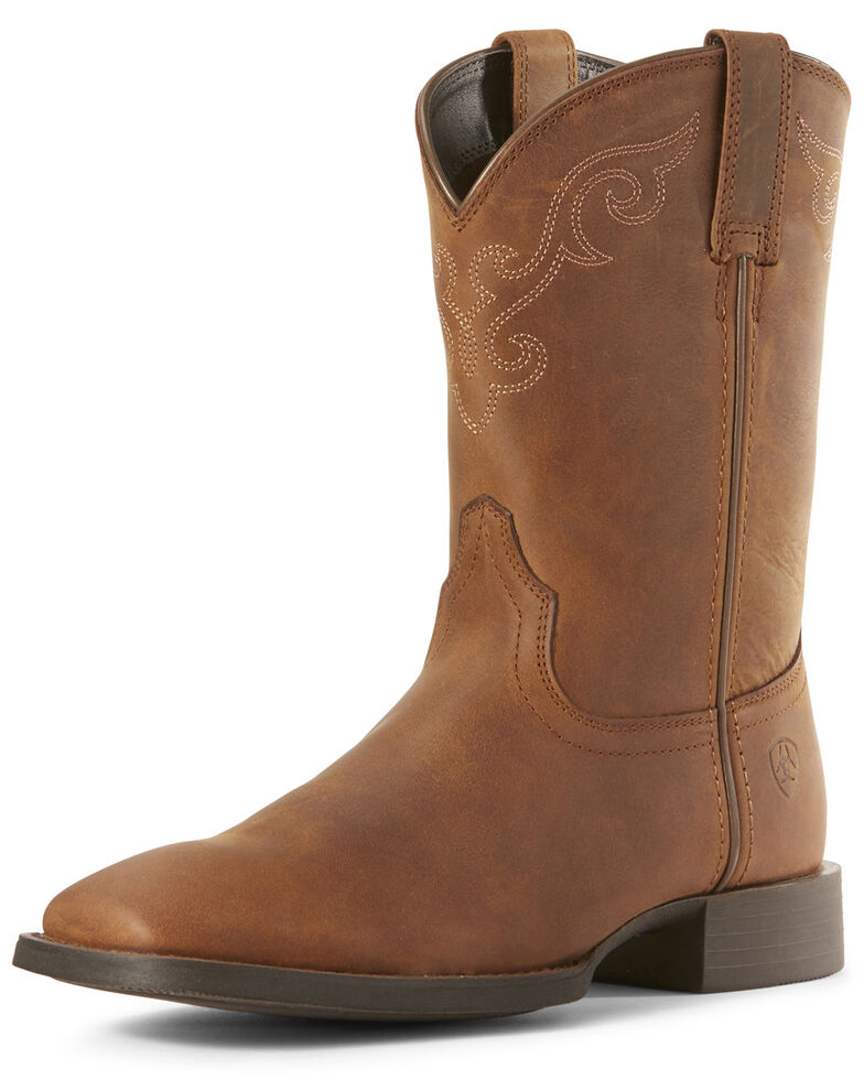 e3ce9dcaa76 Ariat Women's Roper Lacer Western Boots - Wide Square Toe