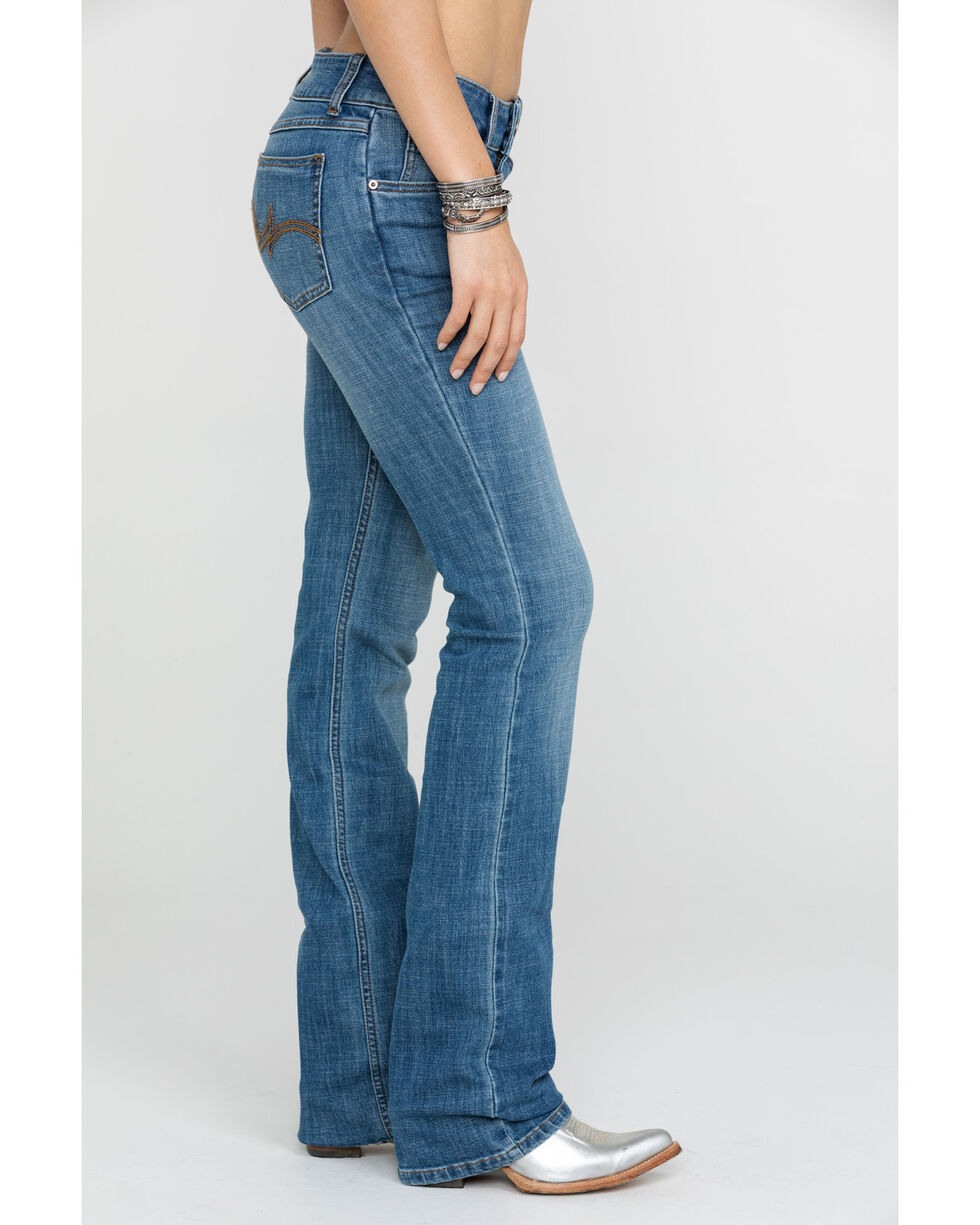 As Real As Wrangler Women's Medium Wash Everyday Bootcut, Blue, hi-res