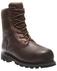 Wolverine Men's Novack Waterproof Work Boots - Composite Toe, Brown, hi-res