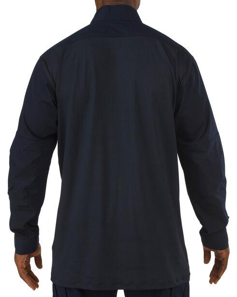 5.11 Tactical Stryke TDU Rapid Long Sleeve Shirt, Navy, hi-res