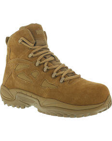 """Reebok Men's Stealth 6"""" Tactical Boots - Composite Toe, Honey, hi-res"""