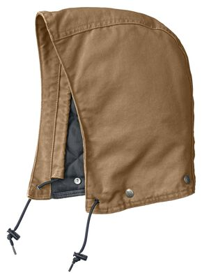 Carhartt Quilt-Lined Sandstone Hood, Brown, hi-res