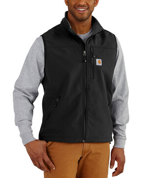 Carhartt Men's Denwood Vest , Black, hi-res