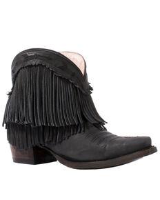 Junk Gypsy by Lane Women's Spitfire Black Fashion Booties - Snip Toe, Black, hi-res