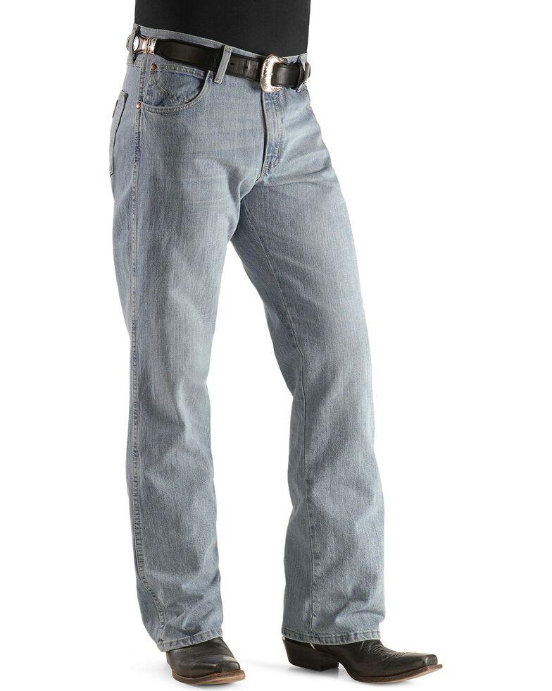Wrangler Men's Crest Retro Boot Cut Jeans - Tall, , hi-res
