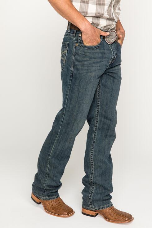 Cody James Men's Dusty Trail Slim Fit Boot Cut Jeans, Indigo, hi-res