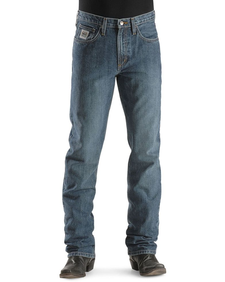 Cinch Silver Label Straight Leg Jeans - Big & Tall, Indigo, hi-res