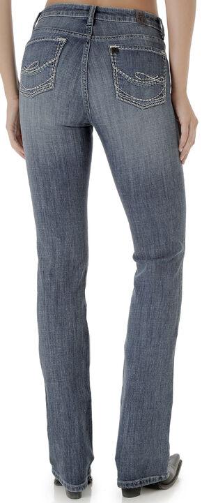 Wrangler Women's Vintage Rinse Aura Instantly Slimming Jeans, Indigo, hi-res