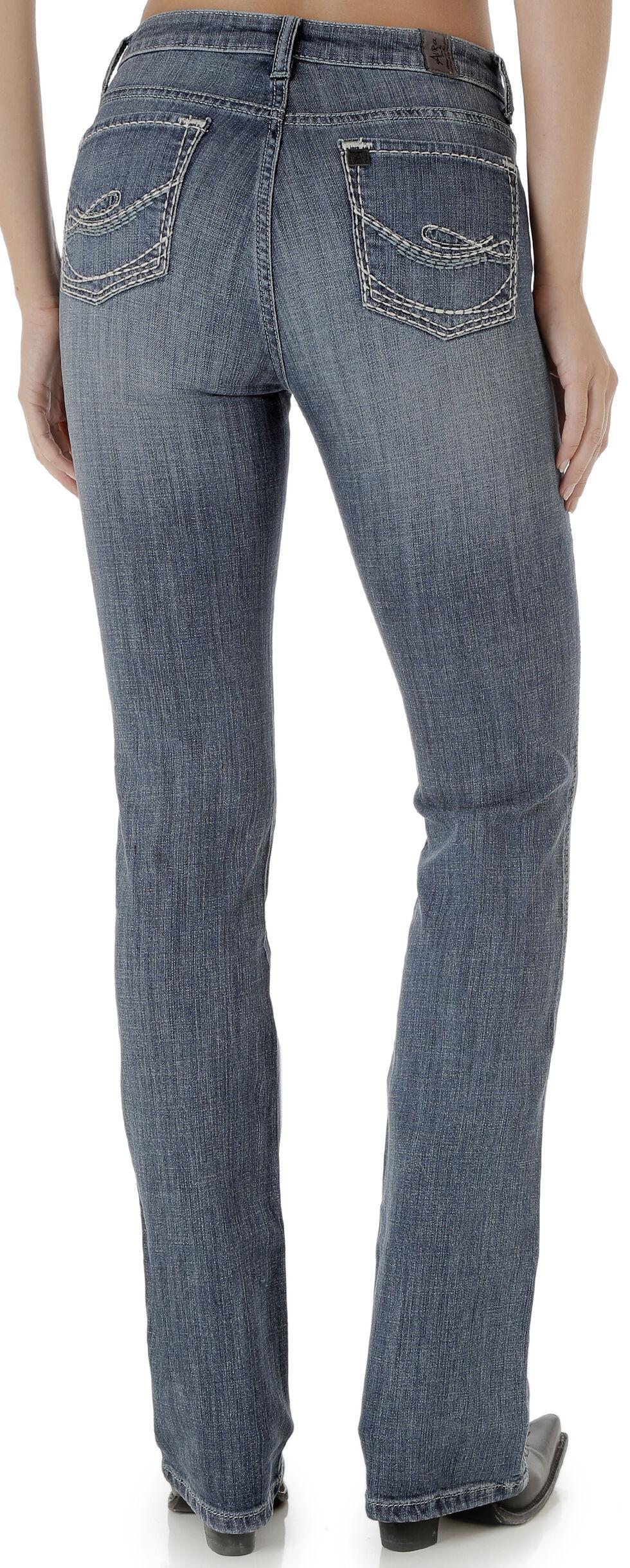 Wrangler Women's Vintage Rinse Aura Instantly Slimming Jeans, , hi-res