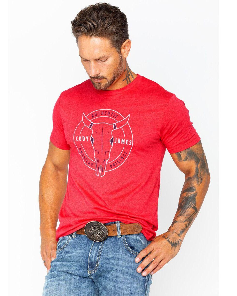 Cody James Men's American Original T-Shirt, Red, hi-res