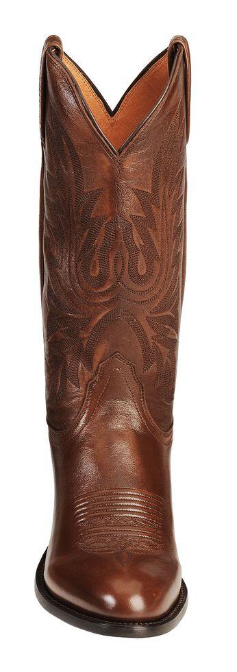 dd5f904356c Lucchese Handmade Lonestar Calf Cowboy Boots - Medium Toe
