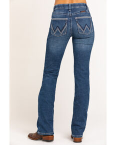 Wrangler Women's Ultimate Riding Williow Lovette Bootcut Jeans, Blue, hi-res