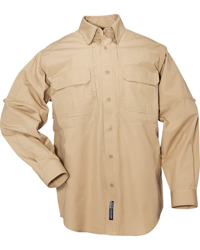 5.11 Tactical Long Sleeve Cotton Shirt - 3XL, , hi-res