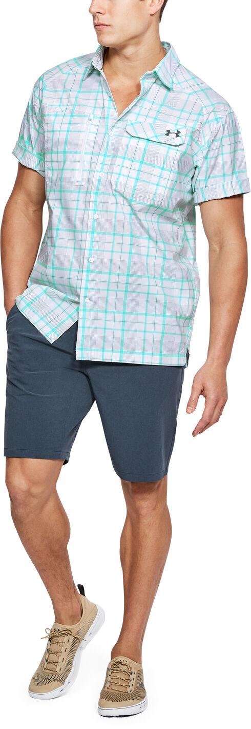 Under Armour Men's Charcoal Grey Fish Hunter Shirt, Dark Grey, hi-res