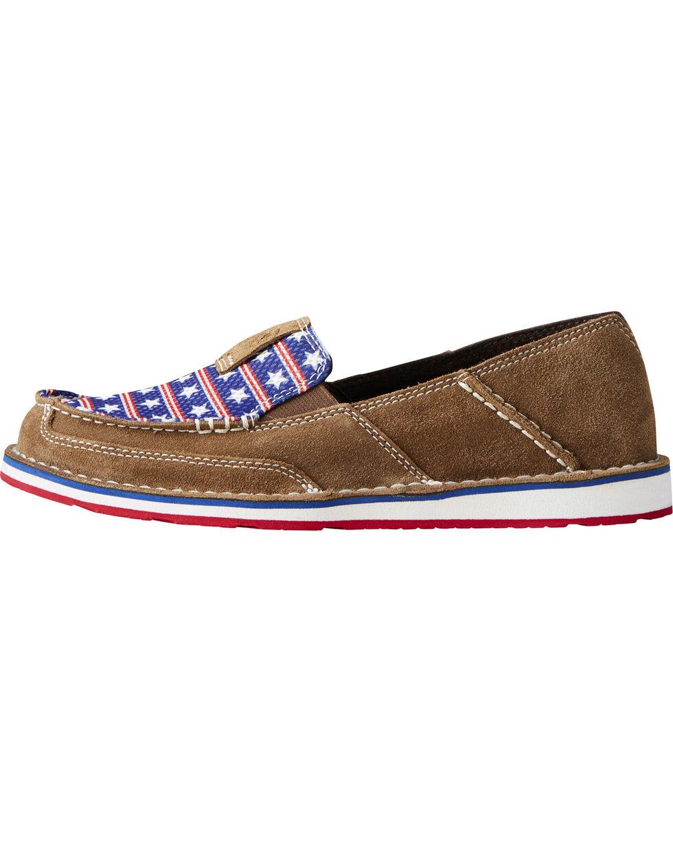 Ariat Women's Americana Cruiser Shoes - Moc Toe, Brown, hi-res
