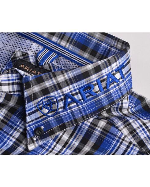 Ariat Men Brookwood Plaid Pro Series Classic Logo Shirt, Multi, hi-res