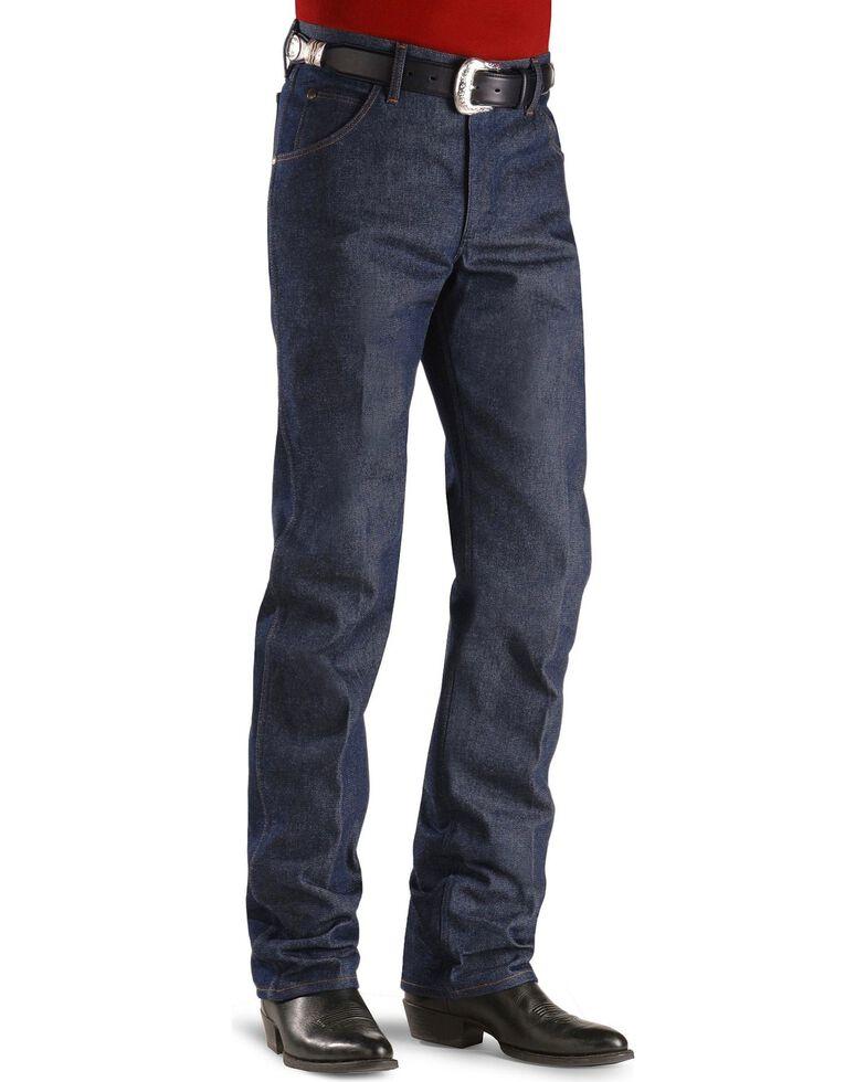 Wrangler 47MWZ Premium Performance Cowboy Cut Rigid Regular Fit Jeans - Tall, Indigo, hi-res