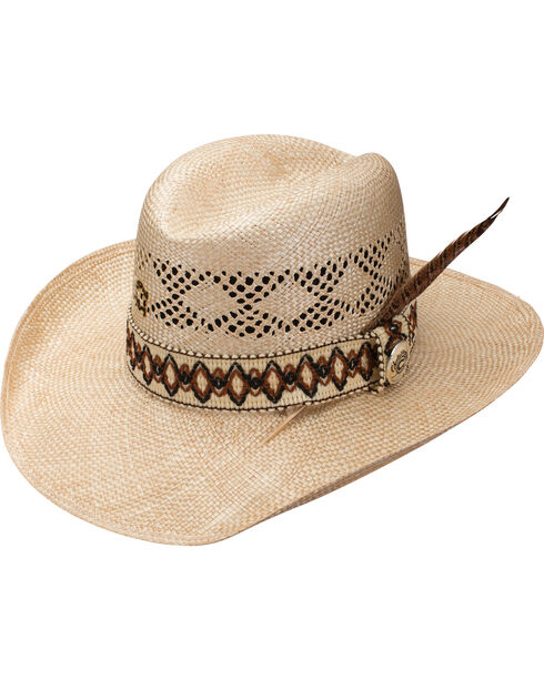 Charlie 1 Horse Dance Hall Straw Hat , Natural, hi-res
