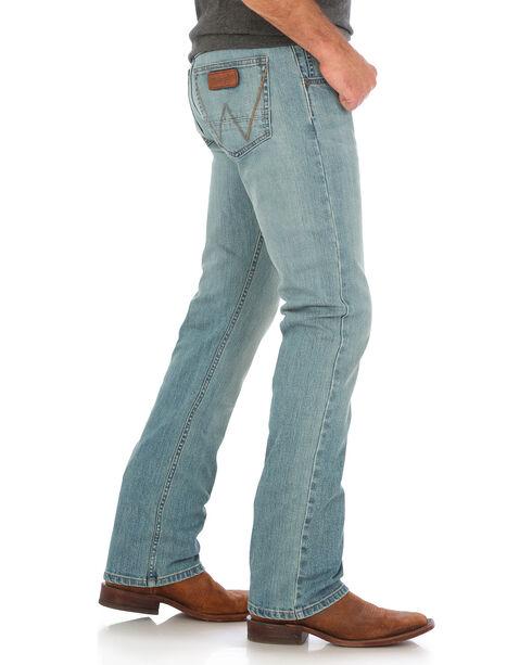 Wrangler Retro Men's Whitehall Slim Fit Jeans - Straight Leg, Light Blue, hi-res