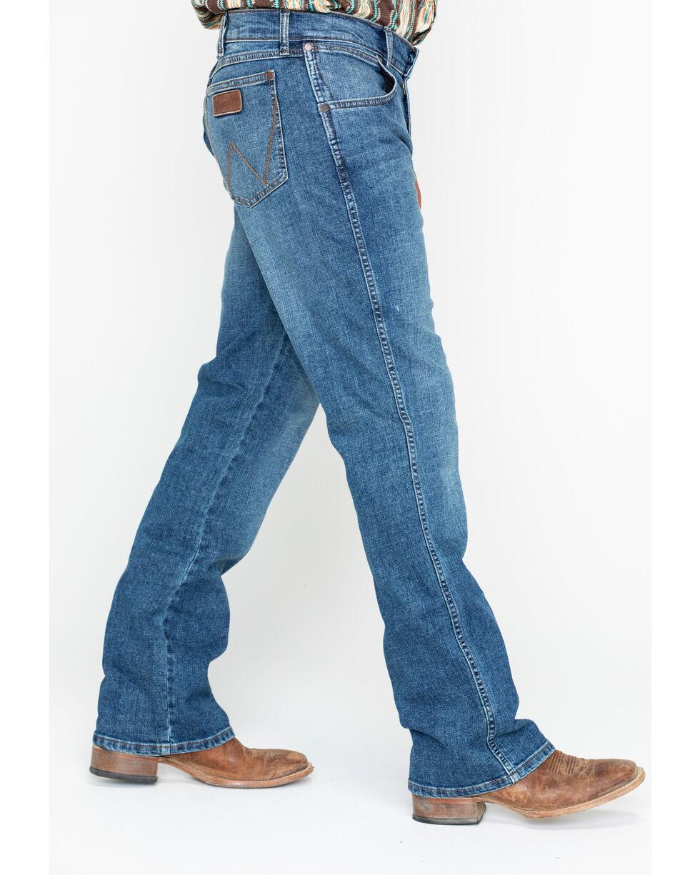 Wrangler Men's Panola Mid Rise Jeans, Blue, hi-res