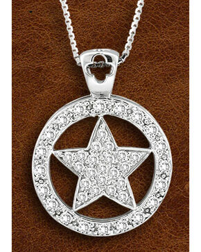 Kelly Herd Sterling Silver Large Western Star Necklace, Silver, hi-res